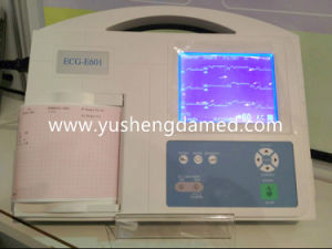 Medical Equipment Six Channel Digital ECG EKG Machine pictures & photos