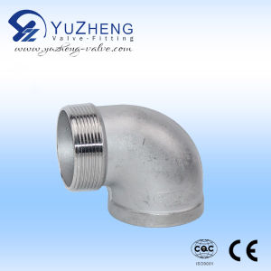 90degree Stainless Steel Thread Elbow with ISO Certificate pictures & photos
