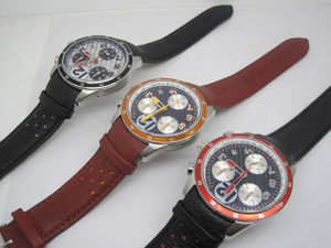 Hot Selling Men′s Mechanical Chronograph Watch with 3crown Design pictures & photos