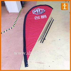 Customized Flag Pole Teardrop Sail Banner Flags (TJ-12) pictures & photos