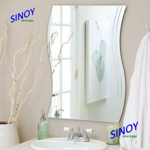 Decorative Wave Shaped Mirror, S Shaped Mirror, Wavy Shaped Bathroom Mirror pictures & photos