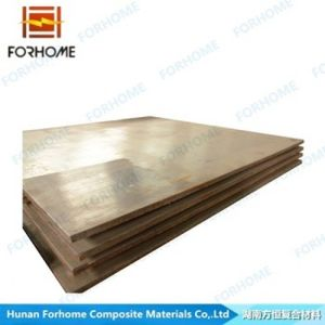 Explosive Bonding/Welding Aluminium Bimetallic Clad Plates pictures & photos