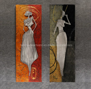 Modern Woman Metal Hangind Wall Art pictures & photos