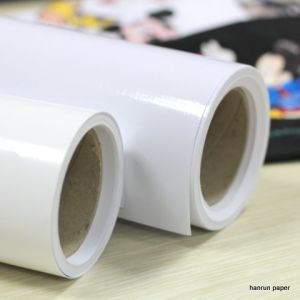 Printable Eco Solvent Heat Transfer Film Vinyl for Textile Printing pictures & photos