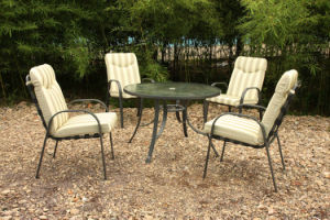 Lounge Dining Table and 4 Chairs Outdoor Garden Furniture (FS-4010+5005) pictures & photos