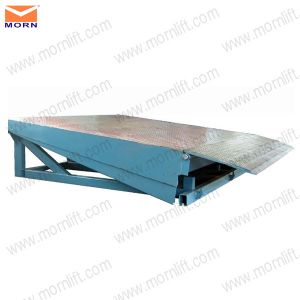 10t Warehouse Stationary Truck Ramp Dock Leveler pictures & photos