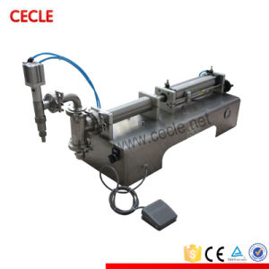 Semi Automatic Aluminum Tube Filling Machine for Sale pictures & photos