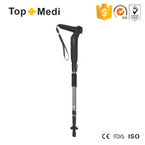 Topmedi Twa002 Homestec Smart Cane Walking Stick - Outdoor with Emergency Survival Sos GPS MP3 Radio Function Gifts for Elders pictures & photos