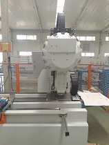 CNC Aluminum Profile Chinese Curtain Wall Drilling Milling Machining Center pictures & photos