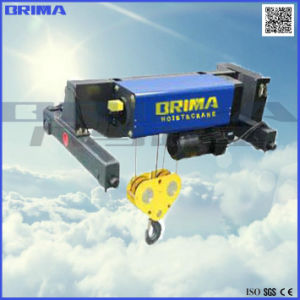 High Quality Double Girder Electric Wire Rope Hoist pictures & photos