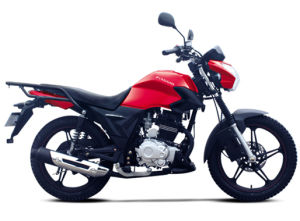 Troy 150cc Cargo Motorcycle Red