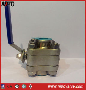 Forged Steel Thread End Fnpt Floating Ball Valve pictures & photos
