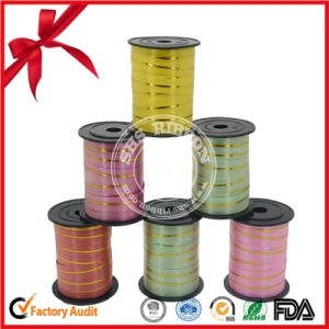 Hot Sale Polyerter Metallic Curly Ribbon for Packaging pictures & photos