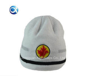 2016 Great Fashion Newest White Beanie Cap pictures & photos