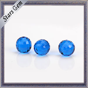 Aquamarine Blue Excellent Faceted Cut Crystal Glass Bead pictures & photos