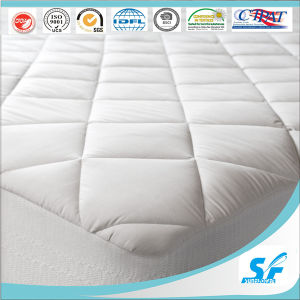 Diamond Quilted Mattress Protector for Hotel pictures & photos