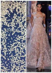 The New Whole Wedding Dress Floral Lace Fabric, Soluble Lace
