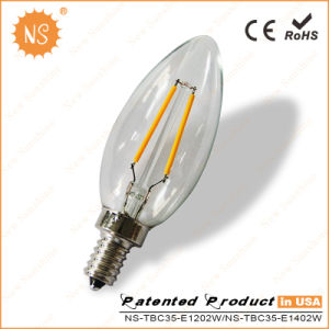 LED Candelabra Torpedo Light Bulb Replacement for Classic Light Bulb pictures & photos