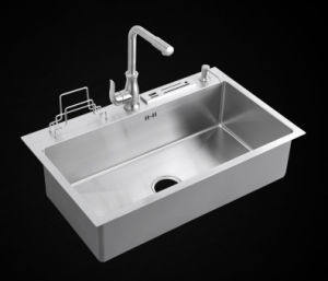 Single Bowl High Quality Handmade Sink (7948s) pictures & photos