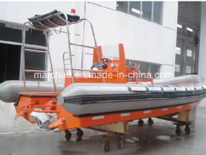 Rigid Inflated Fender Fast Rescue Boat pictures & photos