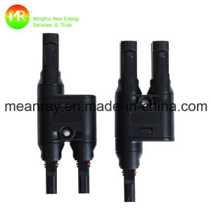 3 Pin Type Mc4 Solar Connector with UL/TUV Certificates pictures & photos