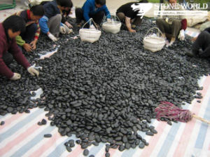 Polished Pebble Stone, Cobble Stone for Decoration, Home pictures & photos