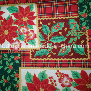 Polyester Printed 300d*300d Mini Matt Fabric Used for Table Cloth and Garment pictures & photos