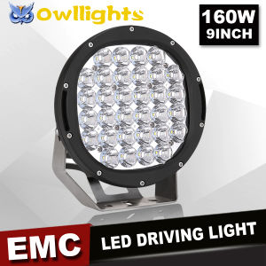 Camping & Hiking LED Spot Lights 9 Inch 96wled Driving Light for Trailer Tractor Folklift