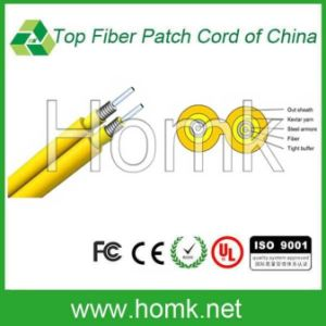 Duplex Zipcord Armored Fiber Cable pictures & photos