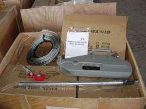 Wire Rope Pulling Hoist with Lifting Winch pictures & photos