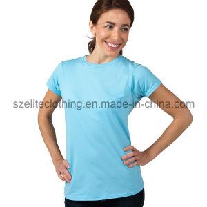 Wholesale Blank T-Shirt for Women (ELTWTJ-82) pictures & photos