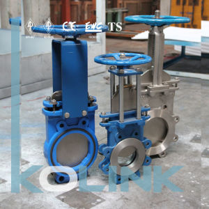 Knife Gate Valve Uni-Directional Bi-Directional Wafer/ Lug Type pictures & photos