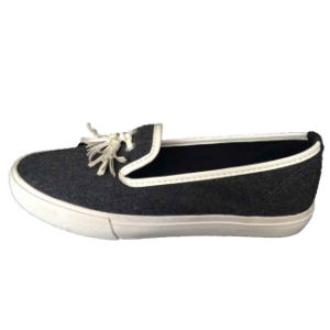 Popular High Quality Beautiful Fashion Slip-on Canvas Shoes for Women/Girl pictures & photos