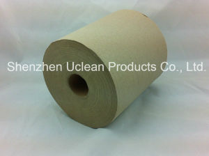 Recycle Brown 80meters Hand Roll Paper Towel pictures & photos
