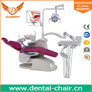 Electricity Power and Air Power Source Scientific Dental Unit Chair pictures & photos