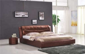 Bedroom Furniture Living Room Furniture Soft Bed pictures & photos