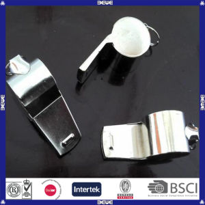 Outdoor Good Quality Flat Metal Whistle pictures & photos