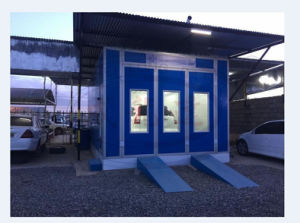 Car Spray Booth with Ce Approval Wld7200 pictures & photos