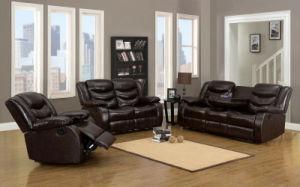3358 PU Recliner Sofa pictures & photos