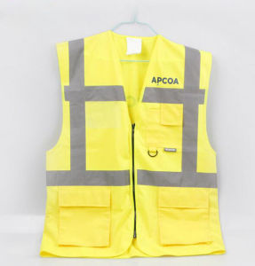 Reflective Outdoor Safety Vest with Pockets pictures & photos