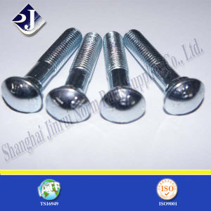 Bzp Lock Screw Round Head Track Bolt pictures & photos
