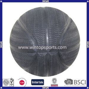 OEM High Quality Special Tyre Rubber Basketball pictures & photos