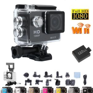 Action Cam1080p Full HD Sport Camera with Extreme Diving 30m Waterproof Helmet Cam with WiFi pictures & photos