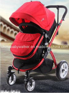 2016 High Landscape Baby Stroller Red Color pictures & photos