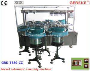 Electronic Element Equipment-Socket Automatic Assembly Machinery pictures & photos