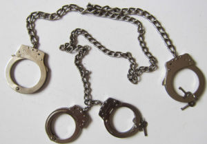 Body Footcuff/Handcuffs / Police Handcuff (SDHA-1P) pictures & photos