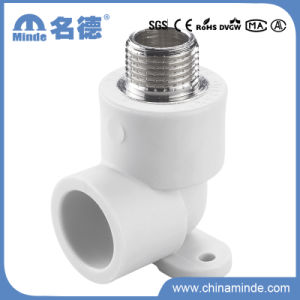 PPR Male Elbow with Disk Type B Fitting for Building Materials pictures & photos