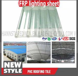 Transparent Corrugated Fiberglass Clear Roof Tile Panels pictures & photos