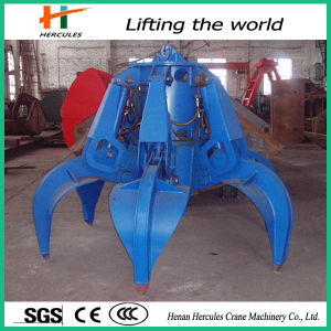 Electric Grab Hydraulic Crane Grapple Grabs Bucket pictures & photos