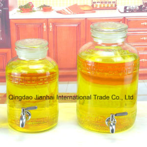 Extra-Large Size Cooking Oil Glass Bottle with Sealed Cap pictures & photos